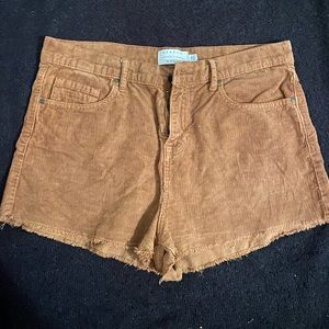 Kendall and Kylie Corduroy Shorts